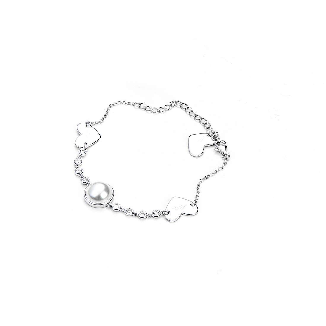 CESARE PACIOTTI 4US Bracciale Donna Collezione Galaxy Of Pearls Argento- 4UBR2603W