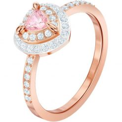 Anello Swarovski One, multicolore, placcato oro rosa - 5470690