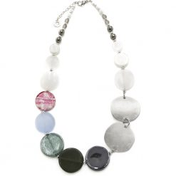 Collana Donna Antica Murrina Venezia Moon con perle in vetro - COB26A16