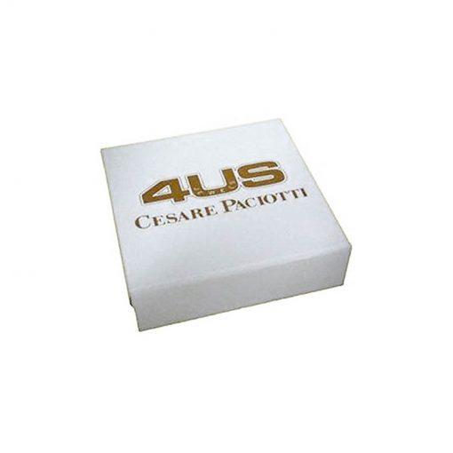 CESARE PACIOTTI 4US Bracciale Uomo Acciaio e Ceramica Collezione Shiny Present -4UBR2707