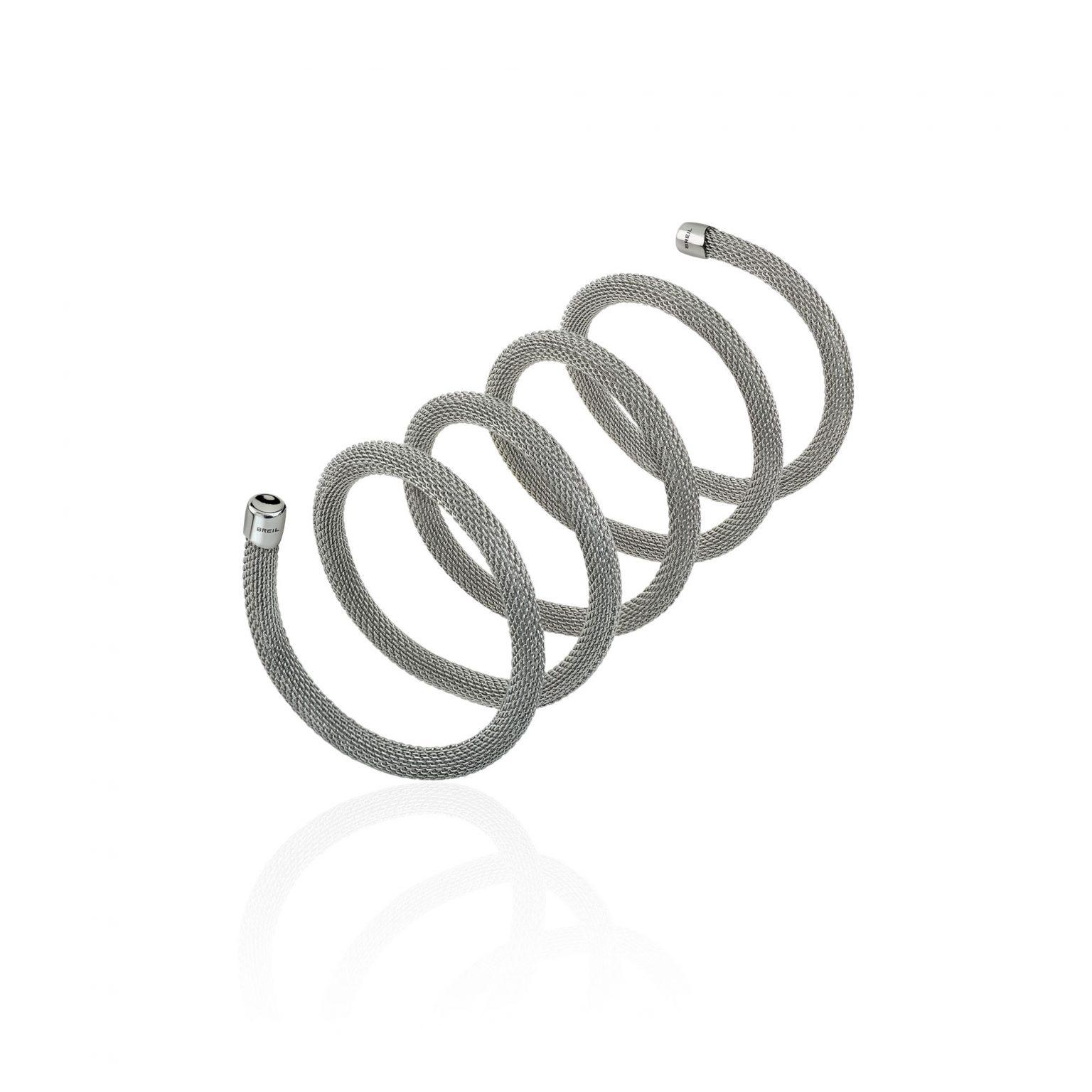 Maglia metallica Breil modello New Snake in acciaio modellabile 80cm- TJ2715
