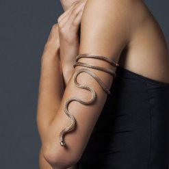 Breil New Snake Collana, Bracciale Acciaio Colore IP Rose Modellabile - TJ2718