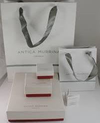 ANTICA MURRINA Bracciale Donna Collezione Natural Circle Rosso - BR814A11