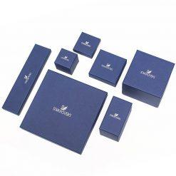 Swarovski Remix Collection Charm, dicembre, azzurro, placcatura rodio - 5437316
