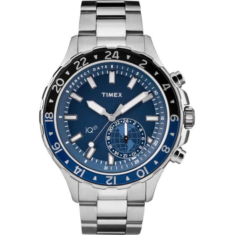 Orologio uomo Smartwatch Timex IQ+ Multitime in acciaio - TW2R39700